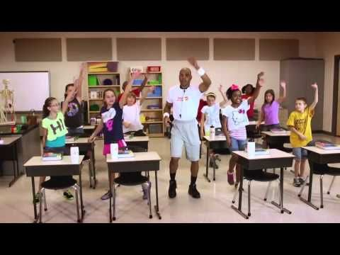 """""""Mental Energizer"""" exercise video for your classroom! Learn more about our videos and download instructions at movetolearnms.org. #fitness #children #classroomideas"""