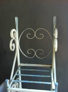 Small Iron Bakers Rack - White    $34    Storage Hunter Sales 817-585-1350
