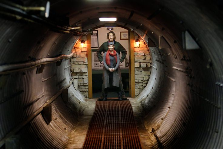 Converted nuclear missile silo listing as luxury rental on Airbnb