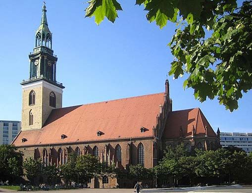 St. Mary's Church, Berlin, known in German as the Marienkirche, is a church in Berlin, Germany. It is located on Karl-Liebknecht-Straße (formerly Kaiser-Wilhel... Get more information about the St. Mary's Church, Berlin on Hostelman.com #attraction #Germany #landmark #travel #destinations #tips #packing #ideas #budget #trips