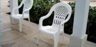 How to Clean White Plastic Patio Chairs   eHow.com