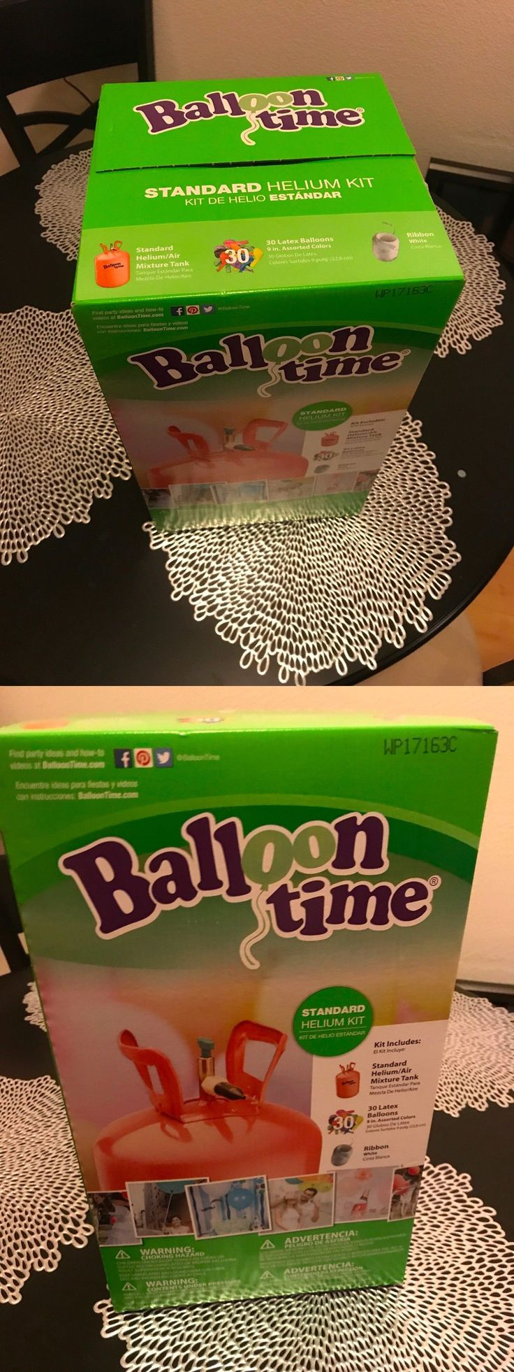Balloons 26384: Brand New Balloon Time Standard Helium Kit *30 Balloons Included* Free Shipping! -> BUY IT NOW ONLY: $40.85 on eBay!