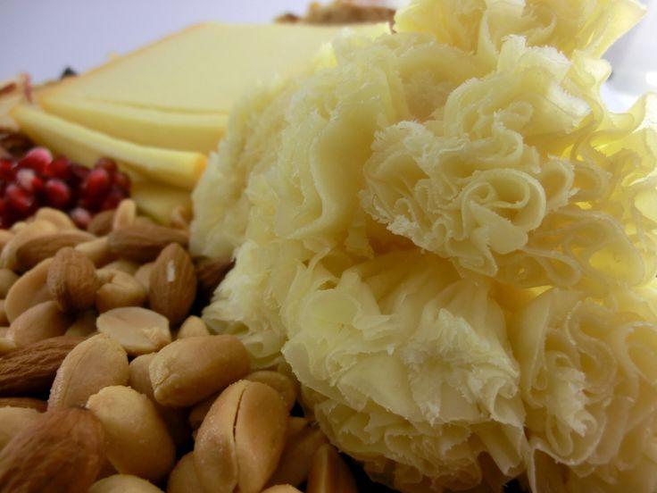 Der Tête de Moine ist der Deluxe-Käse auf der Käseplatte.