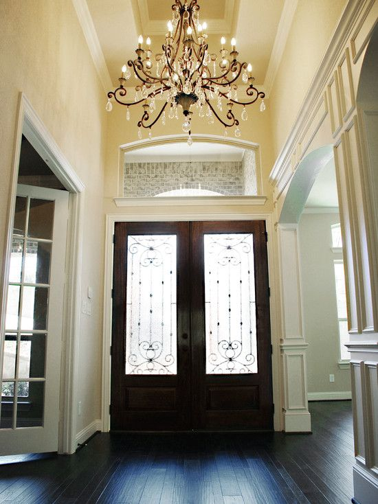Foyer Table With Doors : Best images about foyers entry ways on pinterest