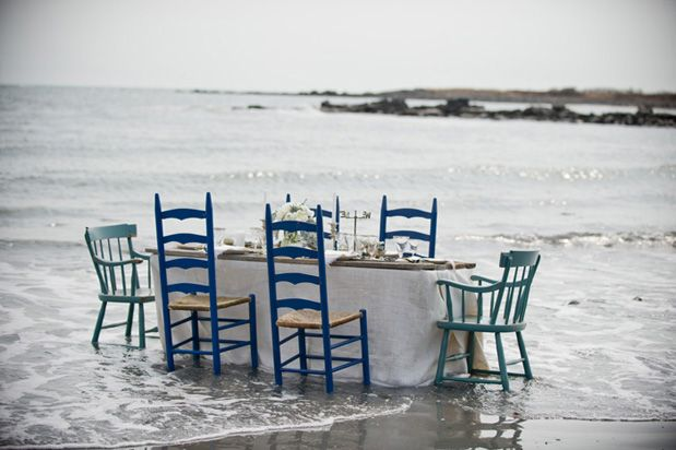 dinner in the sea
