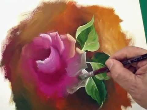 Folha da Hortênsia - Hydrangeas - Pintura em Tecido - Now with English subtitles - YouTube