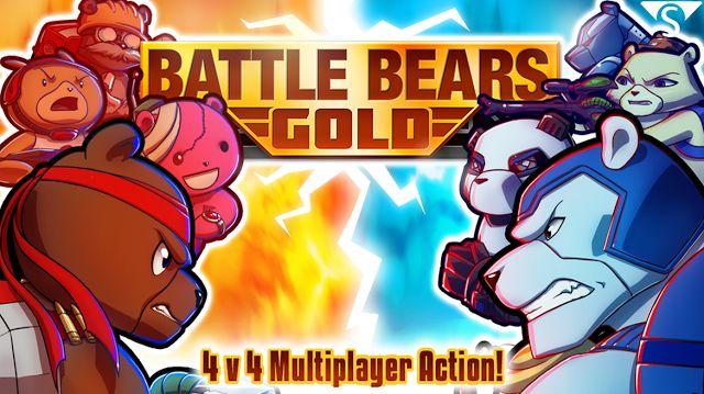 ► http://www.siberman.org/2014/11/battle-bears-gold-android-apk-indir.html  Battle Bears Gold, android telefonlarınız da veya tabletleriniz de oynayabileceğiniz eğlenceli takım tabanlı online aksiyon oyunu. Oyunun içerisinde her birinde ayı karakterleri bulunan 3 takım bulunuyor. Farklı özelliklere sahip her takımda ayrı özellik ve ayrı silah ekipmanları mevcut.
