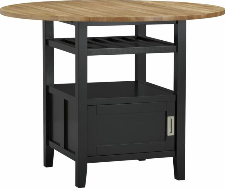 Black Kitchen Chairs For Sale: Belmont Black High Dining Table In Dining Tables