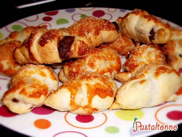 mini #croissant alla #Nutella . Pausa studio da #fuorisede!