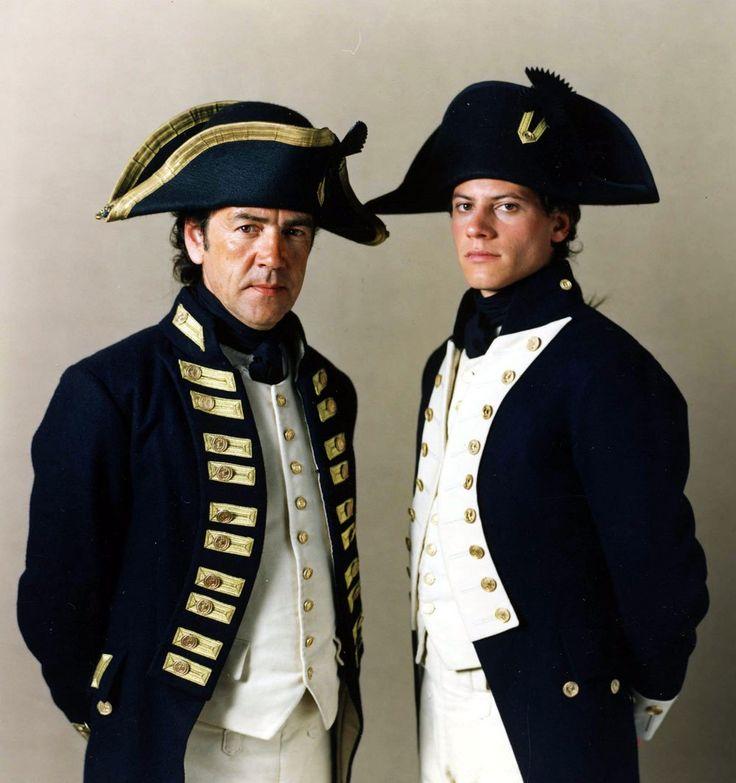 Robert Lindsay as Captain Pellew (with Horatio in his new un-ee-form)