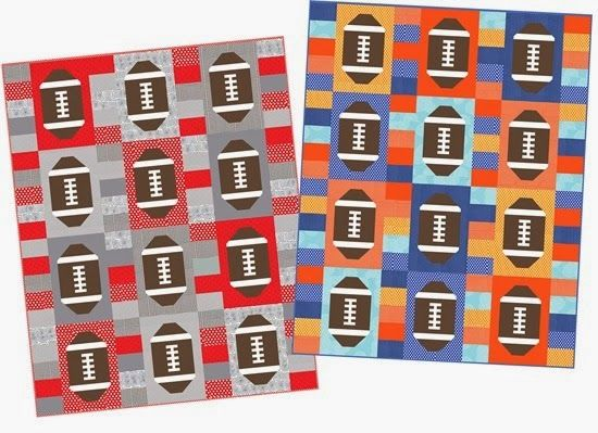 Touchdown Quilt Pattern....I love it!!! Oh my goodness gonna  have to make one or two or three! Would be a great Alabama Football quilt