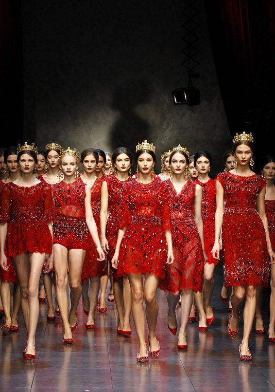 Dolce Gabbana- 2014-Queens