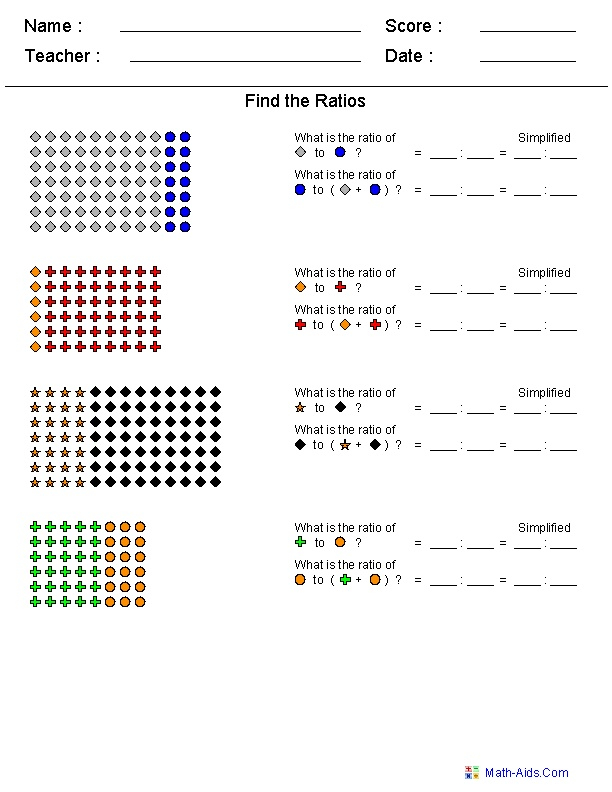 36 best images about Math - Ratio on Pinterest   Cut and paste ...