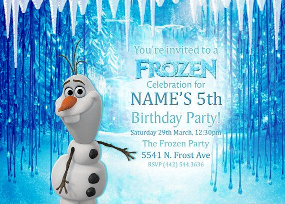 13 best Zoe Olaf party images on Pinterest Birthday party ideas
