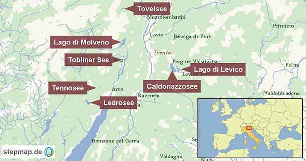 Baden In Italien Sieben Seen Alternativen Zum Gardasee Gardasee