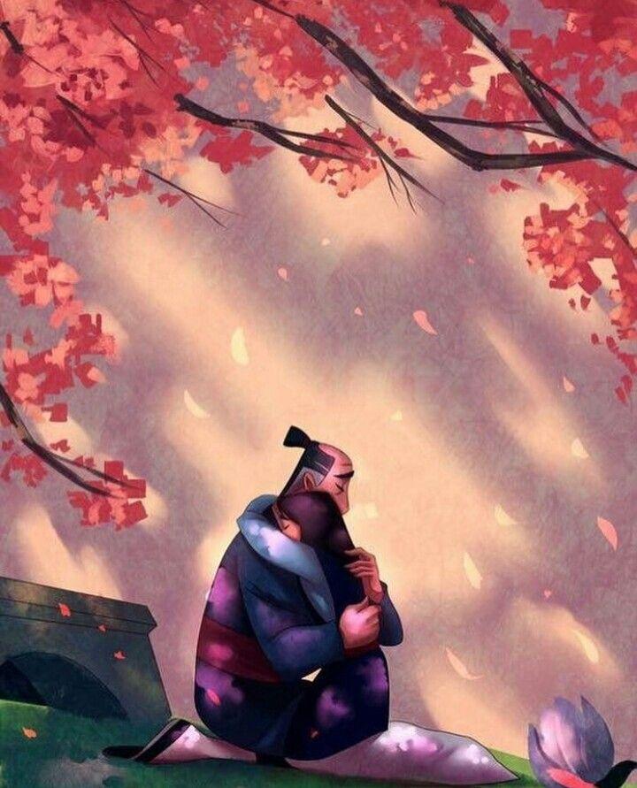 Mulan Father Hug