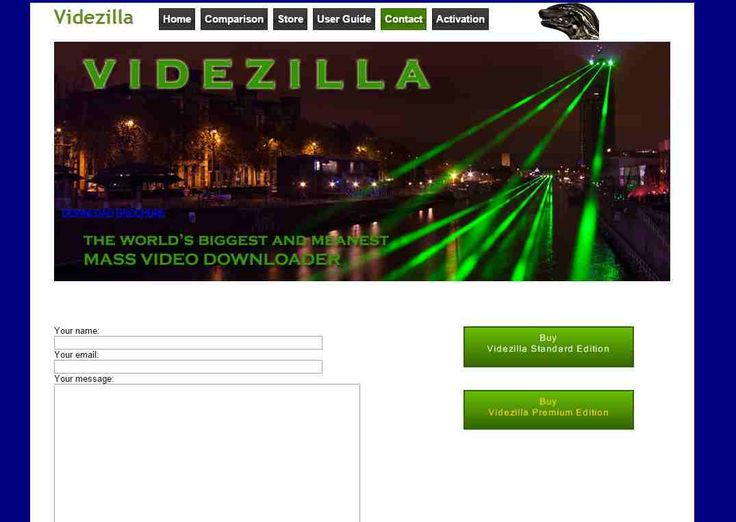 Videzilla has its own YouTube video downloader which the company bets to be the best of all other downloaders, with its commitment and dedication towards the customers, the company tries to give the best in business and premium edition. http://videzilla.com/contact.php