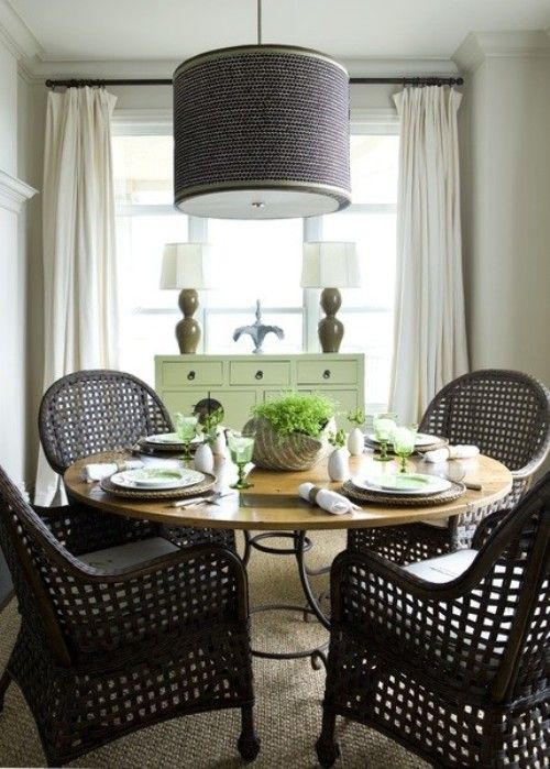 Cute Small Dining Room Eclectic
