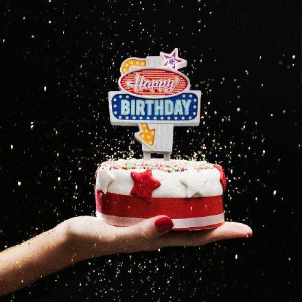 Suck UK Blinkende Kuchendeko Happy Birthday online kaufen ➜ Bestellen Sie Blinkende Kuchendeko Happy Birthday für nur 9,95€ im design3000.de Online Shop - versandkostenfreie Lieferung ab €!