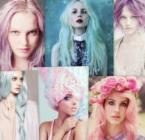 colore fluo 2014 capelli nuove tendenze