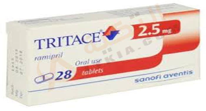 دواء تريتاس Tritace أقراص تستخدم في علاج ارتفاع ضغط الدم حيث يحتوي على المادة الفعالة راميبريل والتي تساعد في ارتخاء الأوعي Personal Care Person Toothpaste