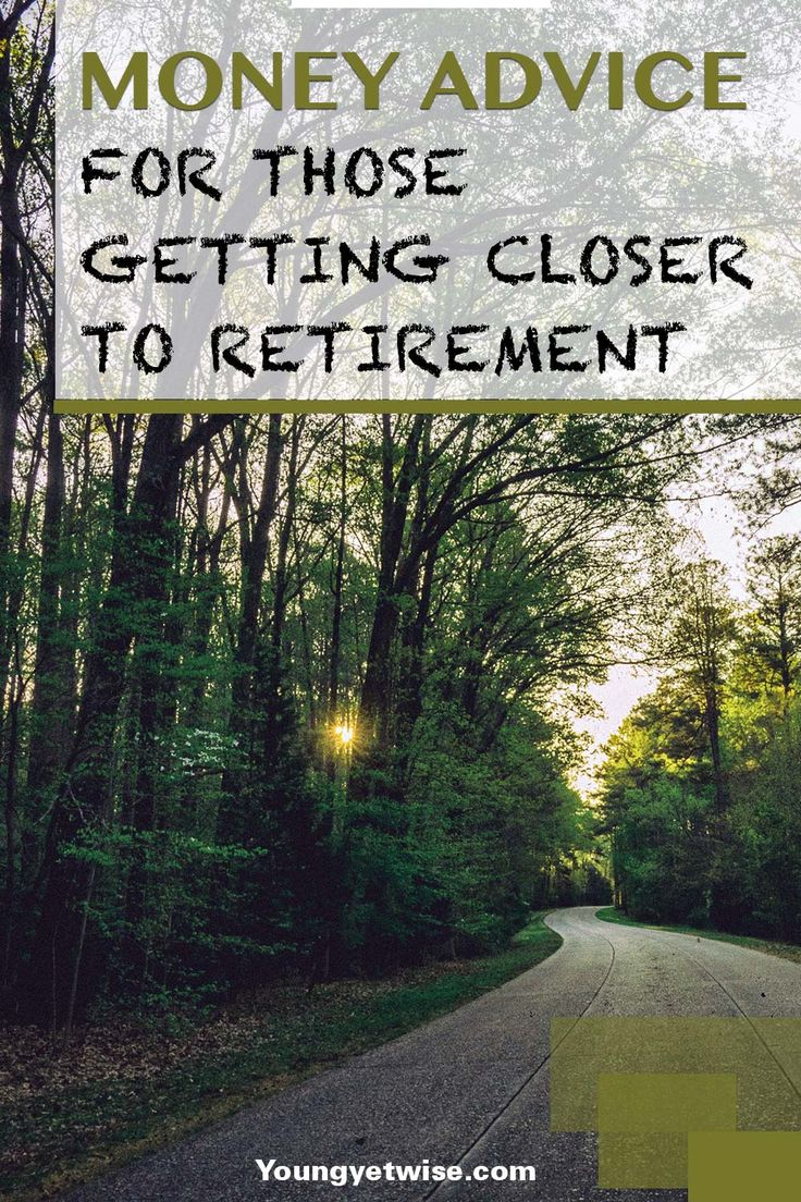 Money advice for those getting closer to retirement. There aren't enough posts geared towards us older people. I was telling my good friend Nancy last night on the phone, so I absolutely loved how this post was geared towards us with great tips! http://youngyetwise.com/financial-advice-to-those-getting-closer-to-retirement/