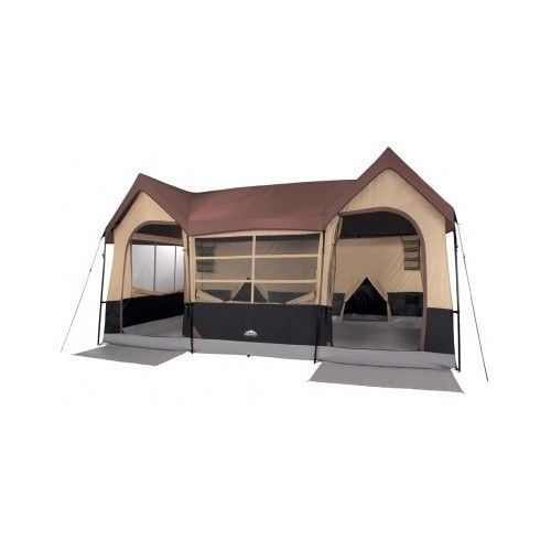 10 Person Cabin Tent Family Camping Hiking Fishing Hunting