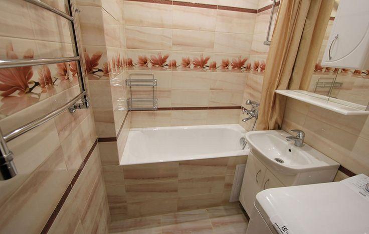 Современный дизайн маленькой ванной комнаты: лучшие фото и идеи-14