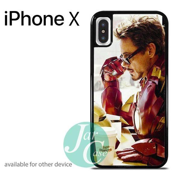 Iron Man Tony Stark Phone case for iPhone X