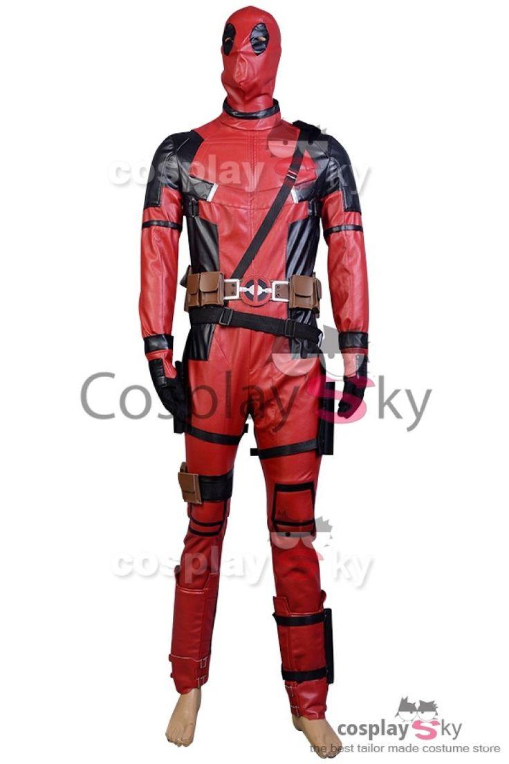 Deadpool Cosplay Disfraz Set Completo de la Película de 2016_1 #cosplaysky #disfraz #deadpool #cosplay