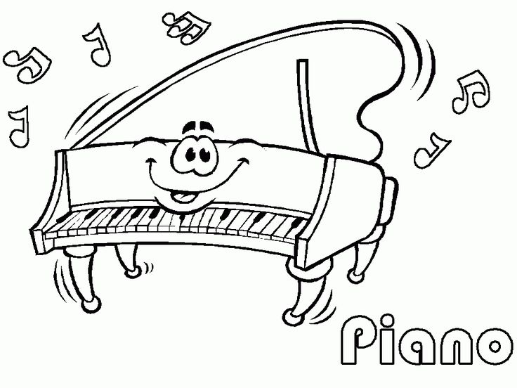 22 musical themed coloring pages for kids coloringpages kids art printables