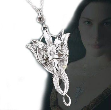 18 best the lord of the rings images on pinterest lord of the 925 sterling silver lord of the ring silver arwen evenstar elf necklace pendant aloadofball Gallery