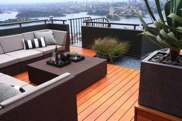 Rooftop garden // Great Gardens & Ideas //