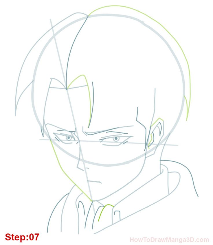 Let's draw Levi Ackerman from Shingeki no Kyogin AKA Attack on Titan today. Levi is the leader of Survey Corps and probably the strongest human soldier. Thanks a lot to Azuu, GP741, kurichan2k,PantiesYohohoho and Giovanna Vargas for request....