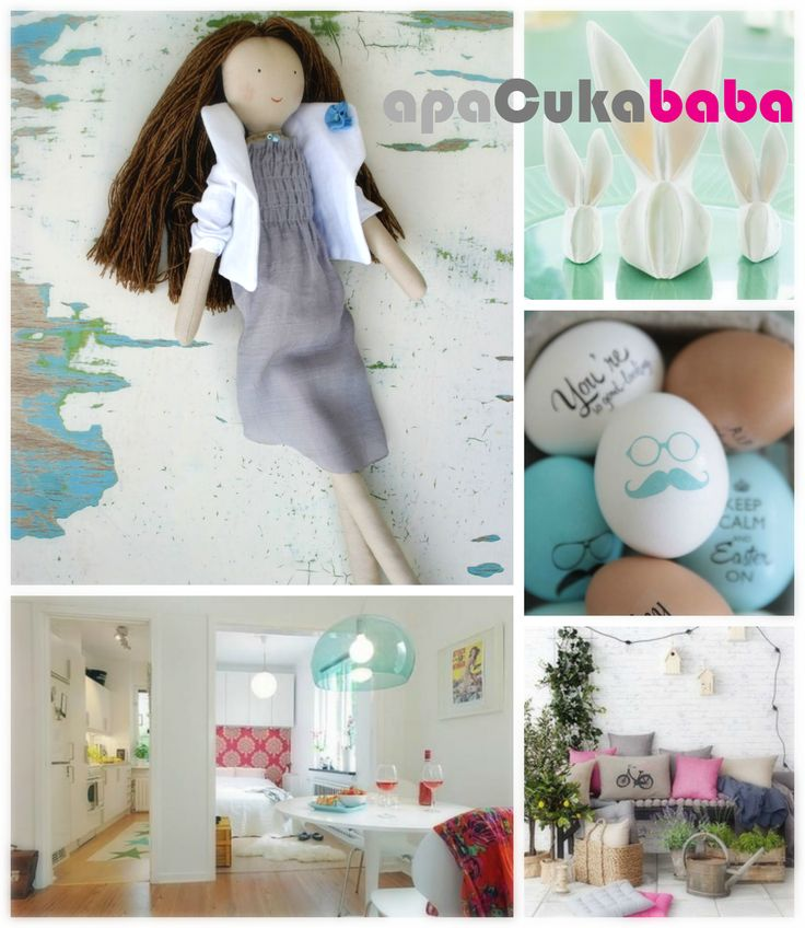 Keep Calm and Follow US :) Custom Personalized Rag Doll = apaCukababa https://www.facebook.com/ApaCukababa