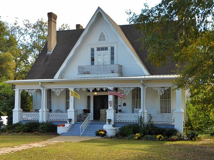 Miller Martin Town House In Clayton Alabama Built About 1859
