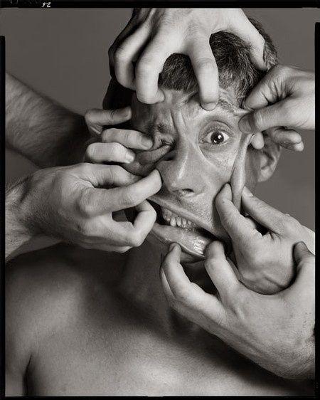 Richard Avedon Maurizio Cattelan, artist, New York, July 8, 2004