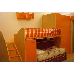 Camerette MORETTI COMPACT per tutte le età, solo su www.mobistock.it a prezzi imbattibili
