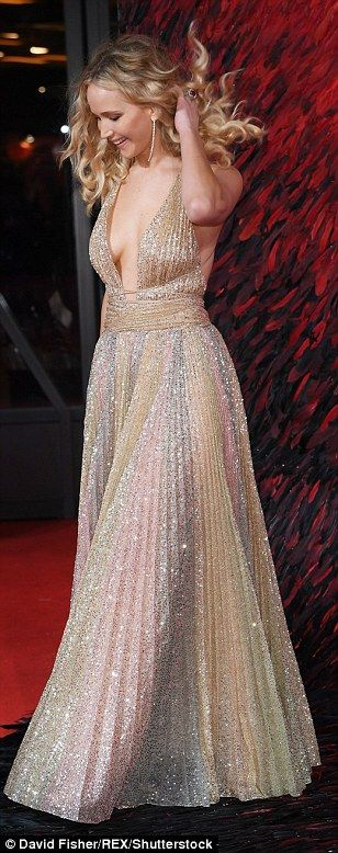 Jennifer Lawrence ignored any critics following the BAFTA Joanna Lumley controversy as she...