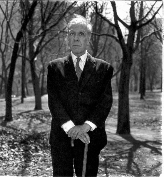 Jorge Luis Borges. Photograph by Diane Arbus.