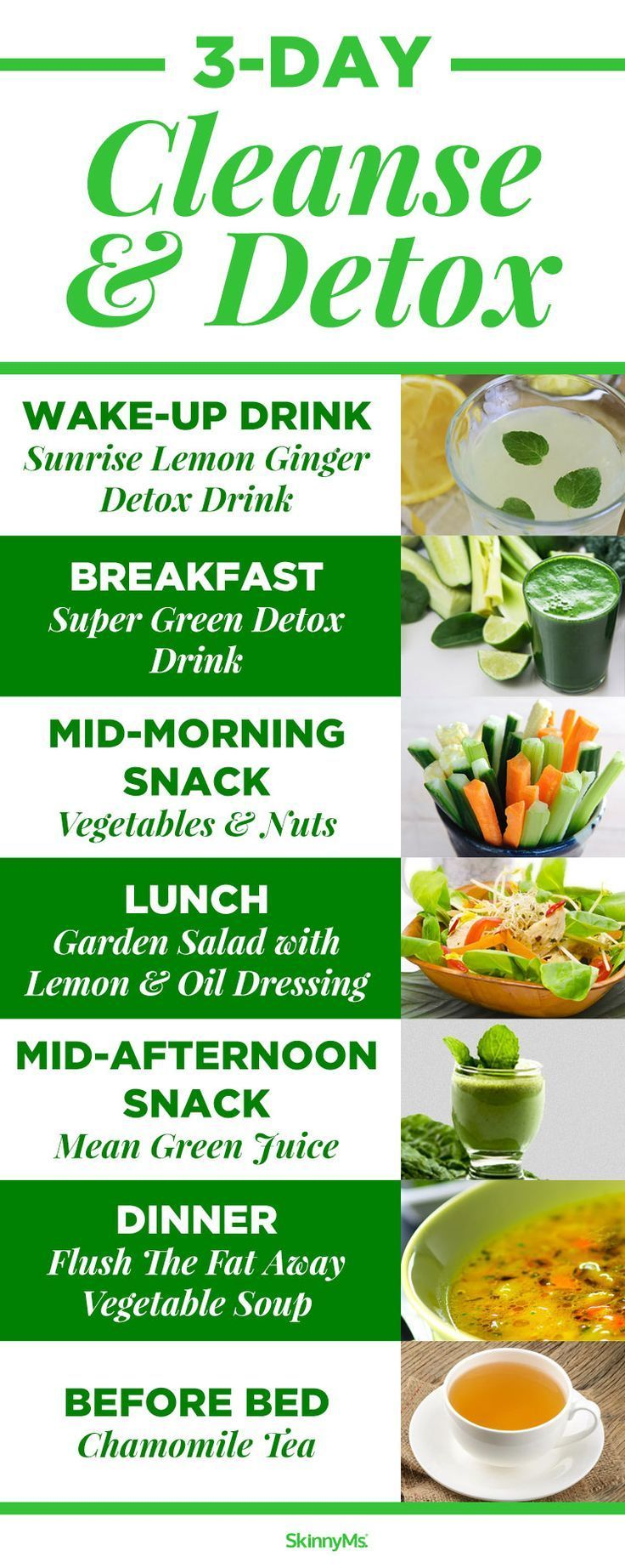 When I need to recharge my body I love the 3 Day Cleanse Detox...it is amazing!|...