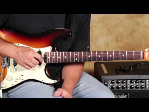 Country Guitar Pedal Steel Licks - Country Guitar Lessons - Country Soloing Fender Strat - YouTube