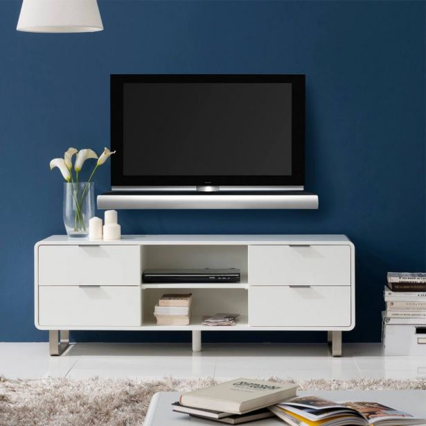 Morgan Minimalist TV Cabinet (L) By Born In Colour