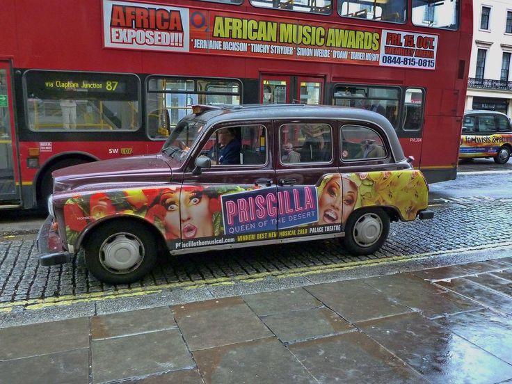 I Famosi Taxi Londinesi
