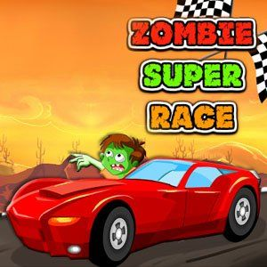 Zombie Super Race : Zombies wild ride in the desert at the wheels of this Super cars maintain your balance until the Finish the level Your goal is to get to the finish line as fast as possible while going through challenging levels, use Spacebar Nitro speed to finish the level in first place upgrade you Car unlock new cars have fun!