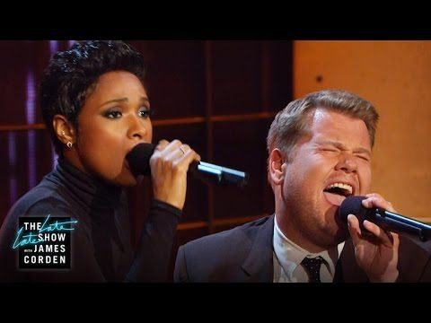 James Cordon and Jennifer Hudson - Public Domain Songs (must watch from 4.45 min - If You're Happy And You Know It Clap Your Hands)