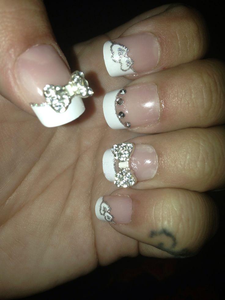 3 Boxes Of Pretty Woman Nails 1 Bows & Bling 1 Airbrush + 1 Metallic ...