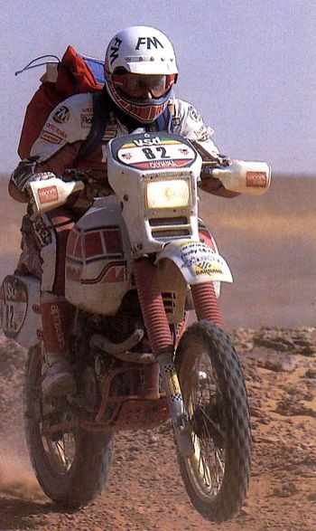 Yamaha tenere Dakar Andrea Marinoni 1985