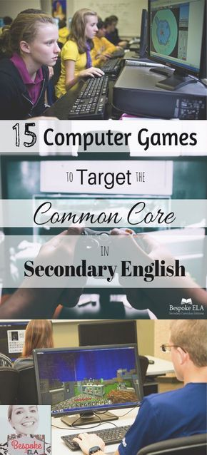 In this blog article from Bespoke ELA, you will find a list of 15 computer games that target Common Core skills in secondary English Language Arts for grades 6-12. This blog also discusses the criteria for selecting high quality games and a rationale for