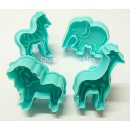African animal cookie cutters www.cheekychuckles.com.au